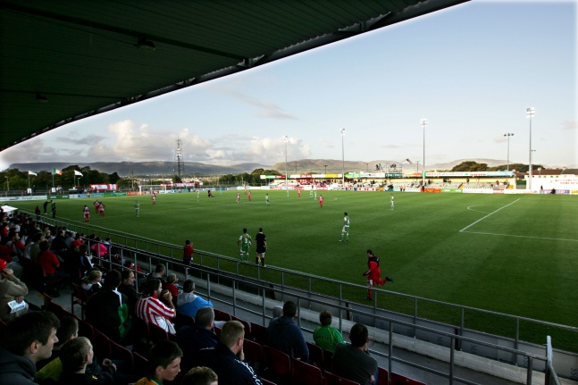 A general view of the Showgrounds 19/9/2009