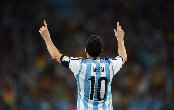 Lionel Messi's goal celebration: The touching reason