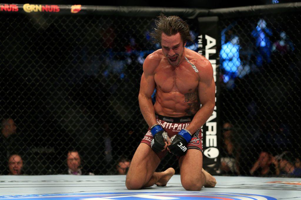 UFC fighter Josh Samman in critical condition