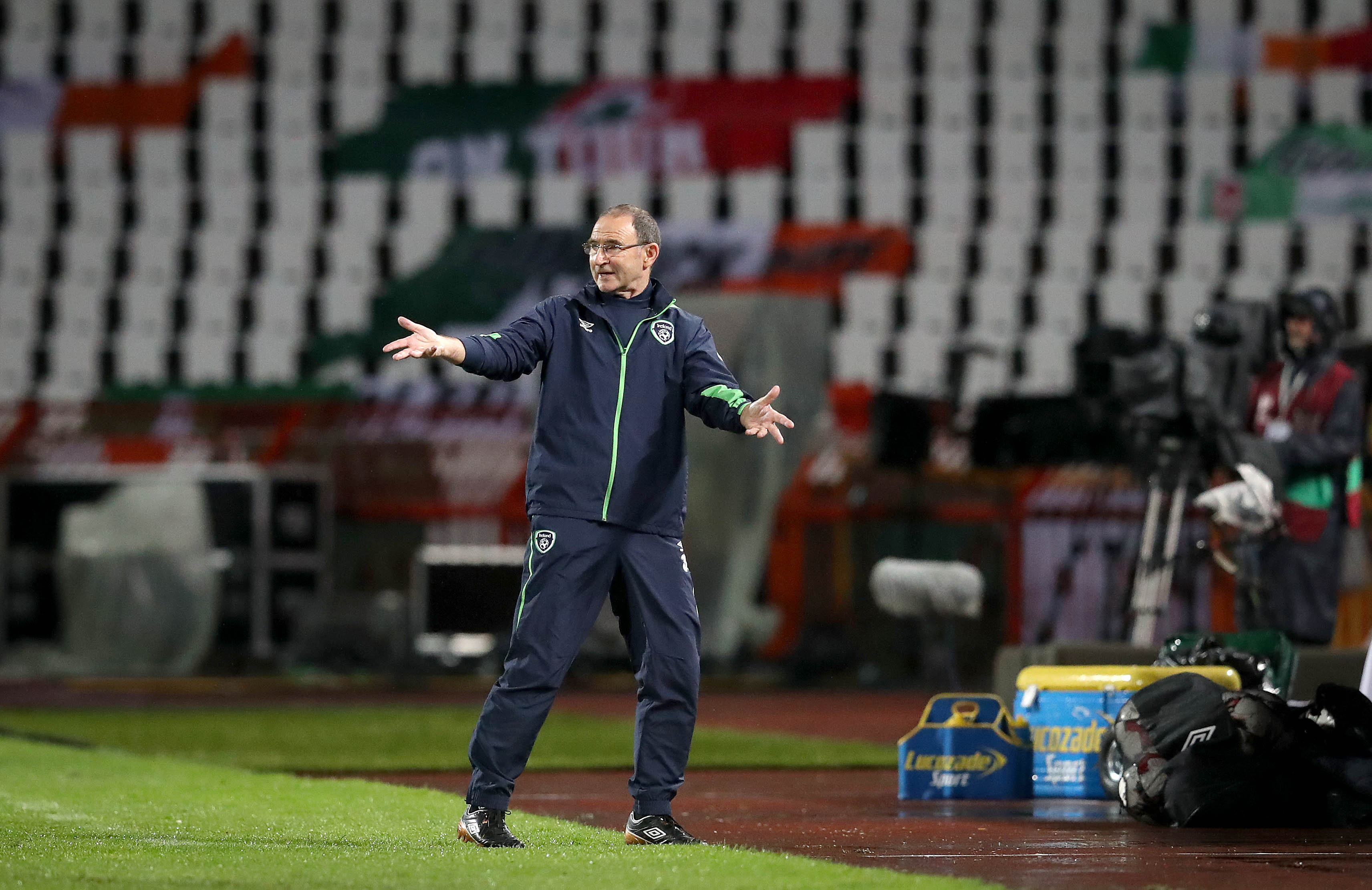 Rep. of Ireland's O'Neill keeping calm after win