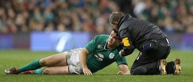 Johnny Sexton is out until mid February after suffering three concussions in a year.
