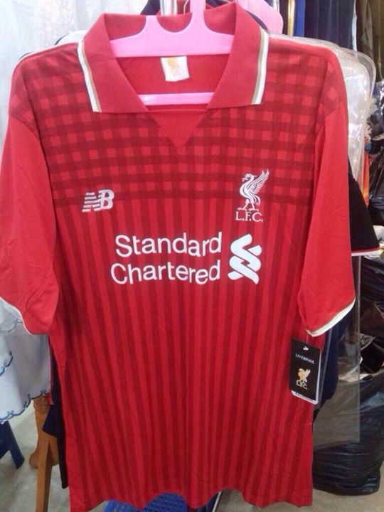 81341e320 Pics  Liverpool release their new kit tomorrow and here are the ...