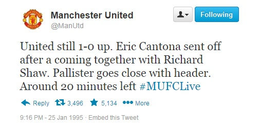 10 Utd tweet