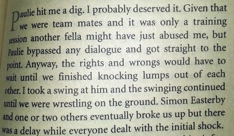 From Joking Apart: My Autobiography by Donncha O'Callaghan