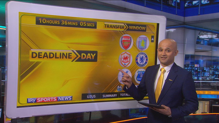 Sky Sports journalist on transfer moves Wenger is now working on
