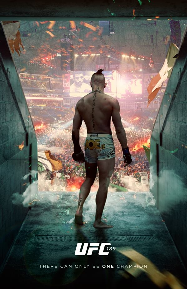 PIC: This fan-made poster for McGregor v Aldo is pretty ...