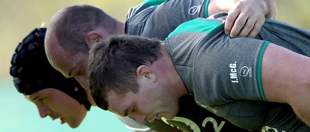 Mike Ross, Rory Best and Jack McGrath 7/11/2013