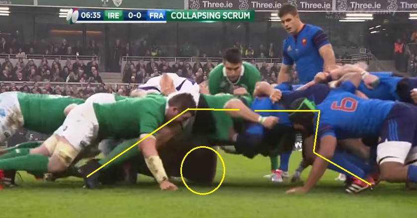 Scrum 1 first collapse