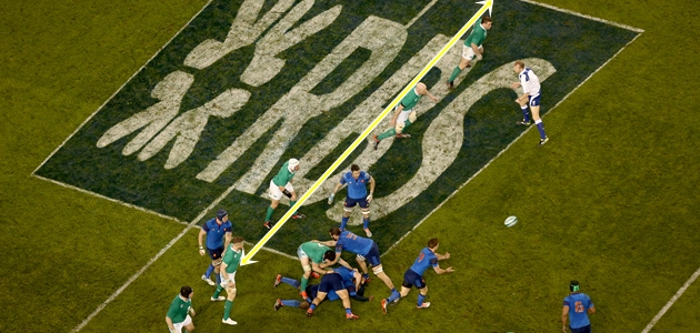 General view RBS 6 Nations Branding 14/2/2015