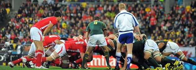 RWC 2011 - South Africa v Wales, 11 September 2011