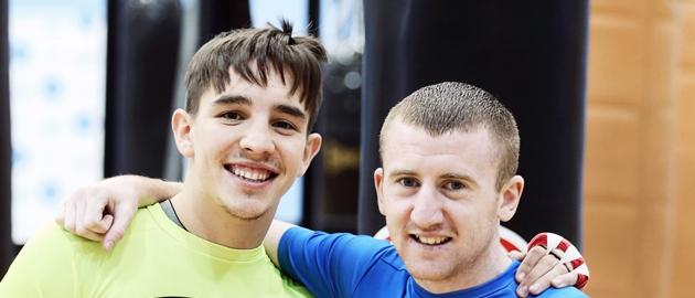 Michael Conlan and Paddy Barnes 5/7/2014