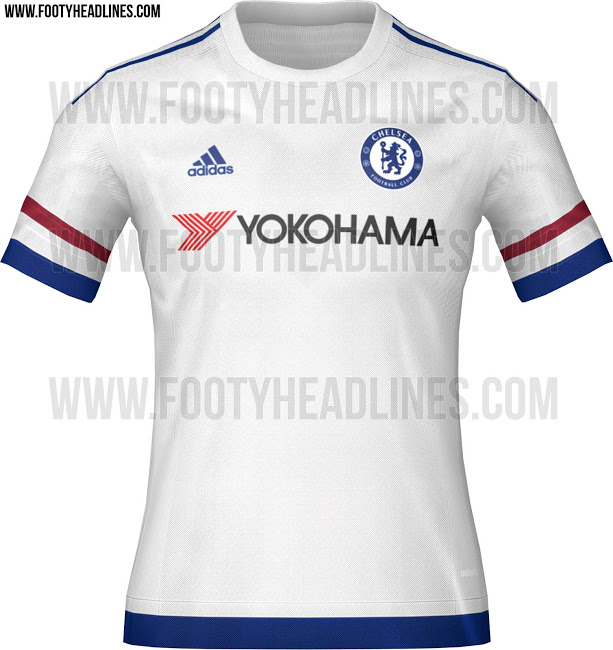 new style aa4c4 a8099 PICS: There's no way that this leaked Chelsea kit for 2015 ...