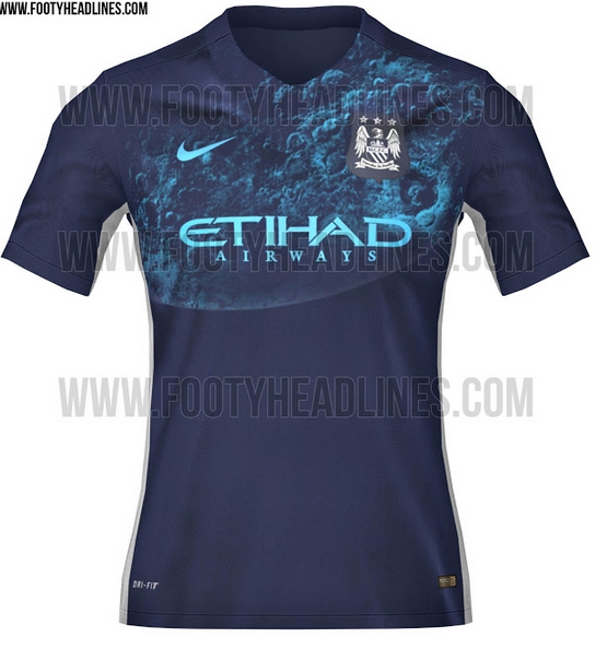 factory price a1256 cbdbe PIC: This leaked Man City away jersey has a blue moon ...