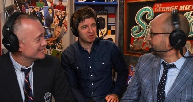 Noel Gallagher David Silva