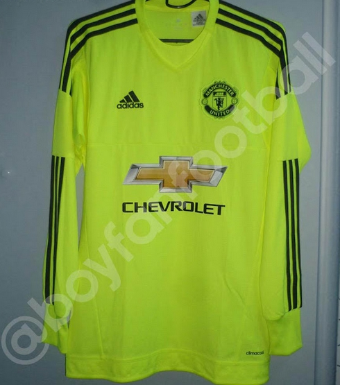 410224120 PIC  Man United s rumoured goalkeeper jersey for 2015-16 will do ...
