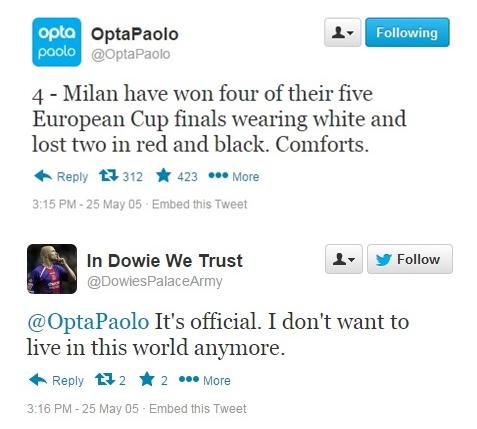 OPTA TWEETS 2