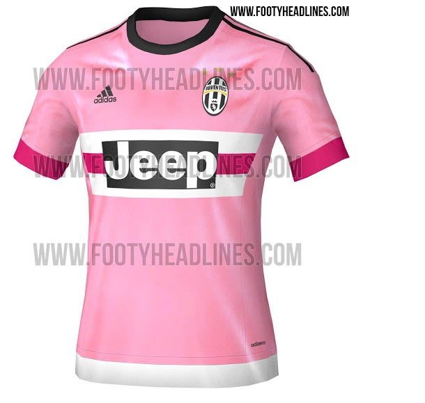 timeless design 28ff9 72e81 PICS: Juventus travel back in time with the pinkest of pink ...