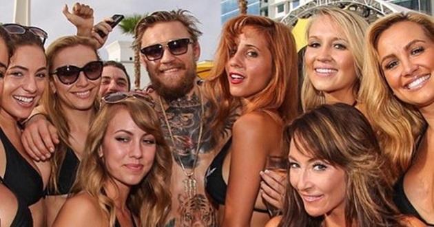 Conor McGregor Vegas party