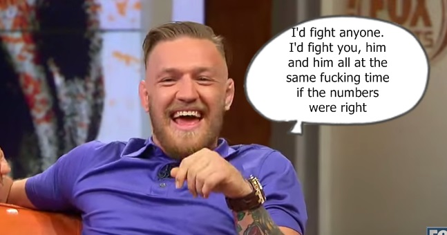 WATCH: The most hilarious Conor McGregor interview you'll