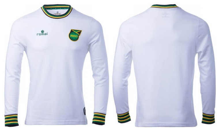 24cc07f4fc0 PICS  Retro Jamaica football jerseys have been released and they re ...