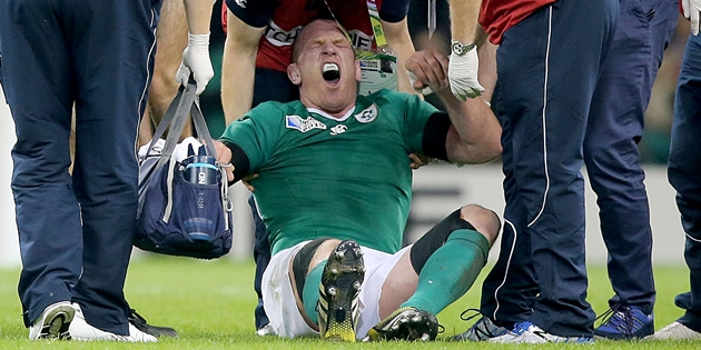 Paul O'Connell down injured 11/10/2015