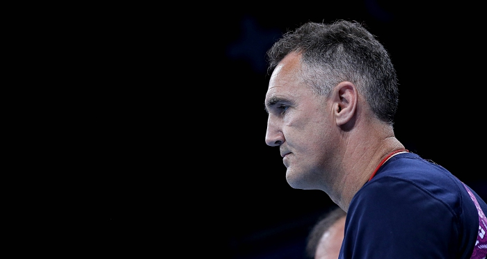 Baku 2015 European Games, Crystal Hall, Baku, Azerbaijan 20/6/2015 Men's Super Heavy 91Kg Ireland boxing coach Billy Walsh Mandatory Credit ©INPHO/Ryan Byrne