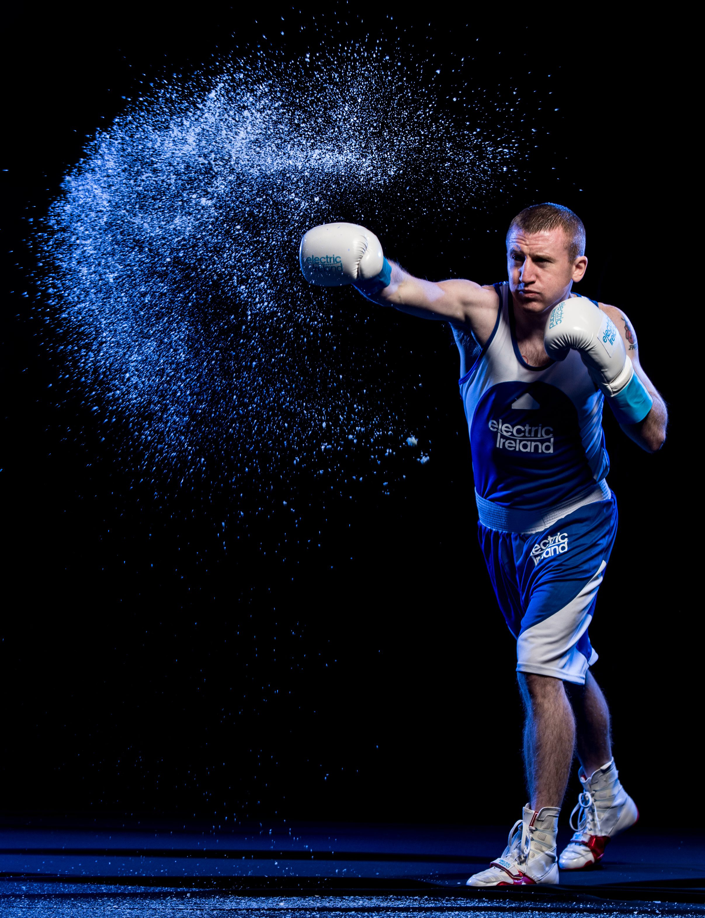 Double Olympic boxing medallist Paddy Barnes teamed up with Electric Ireland to announce its Smarter Living sponsorship of the Irish Olympic Team
