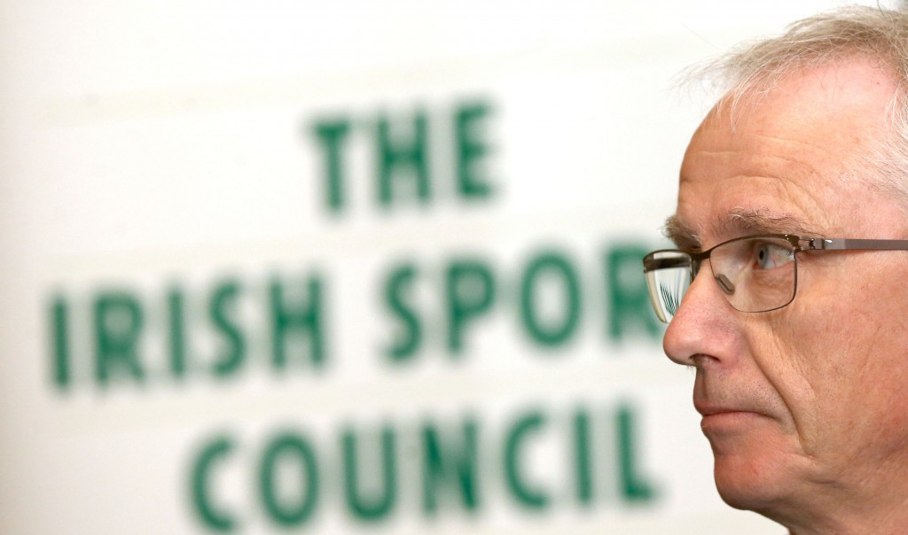 REPRO FREE***PRESS RELEASE NO REPRODUCTION FEE*** Minister Ring Launches Irish Sports Council Anti Ð Doping Annual Review, Dublin 6/5/2015 The Irish Sports Council today published their Anti-Doping figures for 2014. Last year, the Council conducted 1054 tests including 279 blood tests. The increased emphasis on blood testing has further developed the intelligence led approach within the Anti- Doping Programme as blood testing figures increased by 31% in 2014. Speaking at the launch, Minister of State for Sport, Michael Ring T.D commented ÒFor over 15 years, the Irish Sports Council has been entrusted by my Department to combat doping in Ireland and we are resolute that our fight against doping is constant, determined and ultimately successful. My commitment is underpinned by the fact that I have taken the opportunity in the Sport Ireland Bill, currently before the Seanad, to update the regulations on Anti-doping. We in Ireland are committed to inspiring fair play in sport and protecting the rights of clean athletes and I want to send a clear message out today that doping should not be tolerated at any level.Ó Pictured today John Treacy, Chief Executive, Irish Sports Council Mandatory Credit ©INPHO/James Crombie