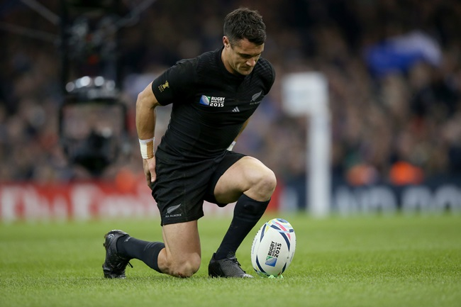 New ZealandÕs Dan Carter 17/10/2015