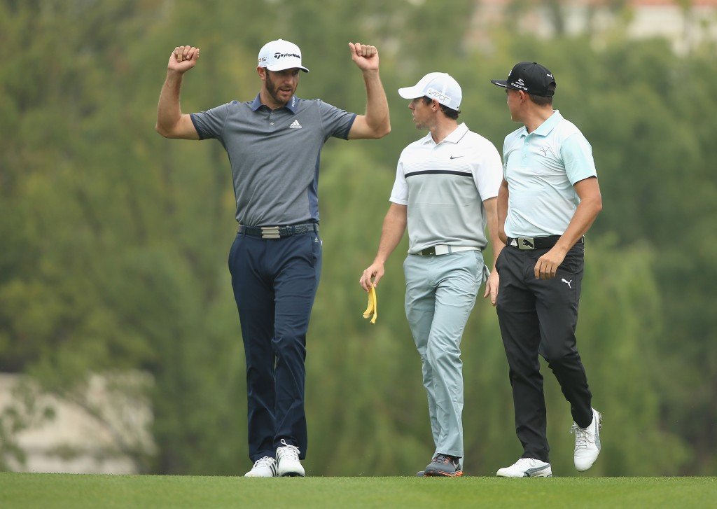 during the first round of the WGC - HSBC Champions at the Sheshan International Golf Club on November 5, 2015 in Shanghai, China.