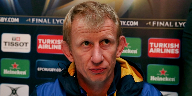 Leo Cullen speaks to the media after the game 21/11/2015