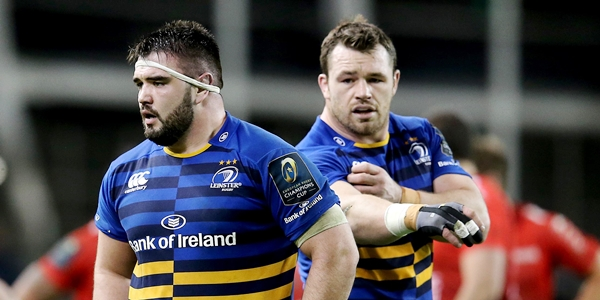 European Rugby Champions Cup Round 4, Aviva Stadium, Dublin 19/12/2015 Leinster vs Toulon Leinster's Marty Moore Mandatory Credit ©INPHO/Ryan Byrne