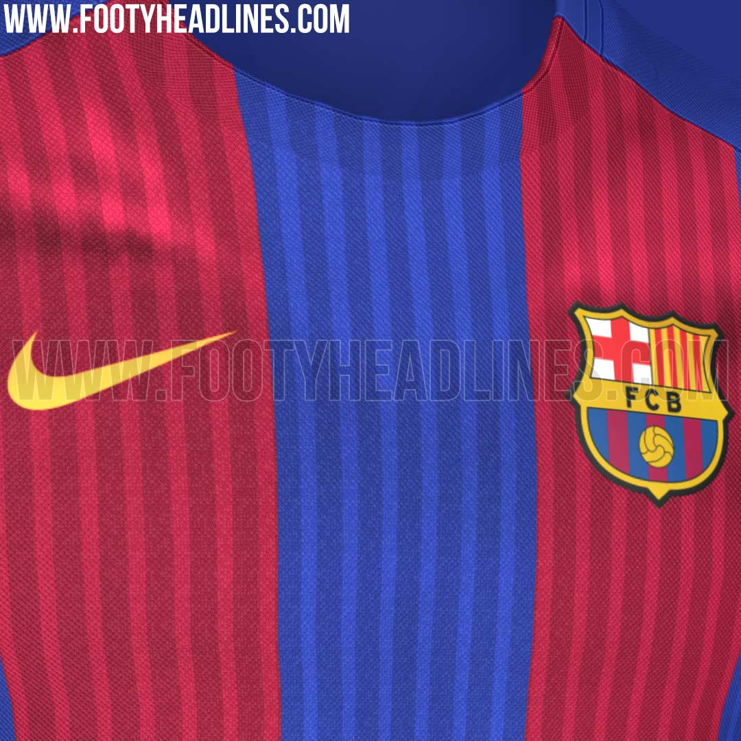 Barcelona 39 s new home jersey has leaked and it 39 s a big - New home barcelona ...