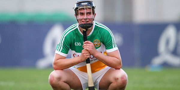 EirGrid Leinster Under 21 Hurling Championship Semi-Final, O'Connor Park, Tullamore, Co. Offaly 24/6/2015 Offaly vs Wexford A dejected Padraig Guinan of Offaly after the game Mandatory Credit ©INPHO/Cathal Noonan