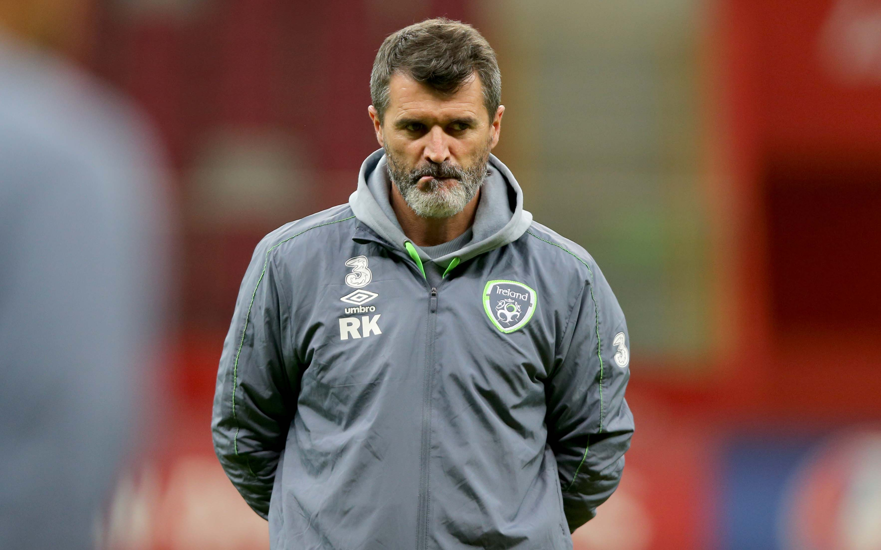 Roy Keane tells kids to throw their mobile phones in the bin and
