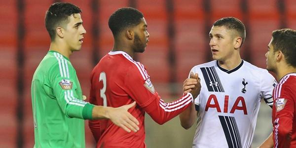 Manchester United U21 v Tottenham Hotspur U21: Barclays U21 Premier League