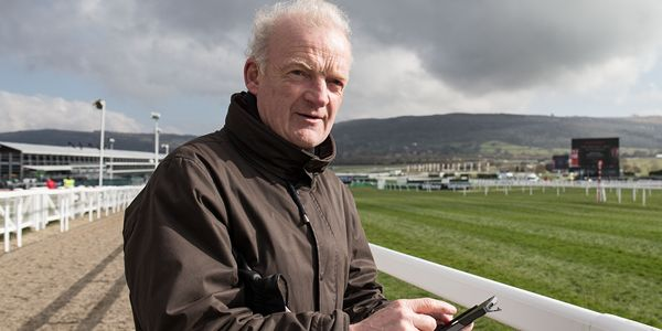 2016 Cheltenham Festival, Prestbury Park, Cheltenham, England 16/3/2016 Trainer Willie Mullins poses for a picture before today's racing Mandatory Credit ©INPHO/Dan Sheridan
