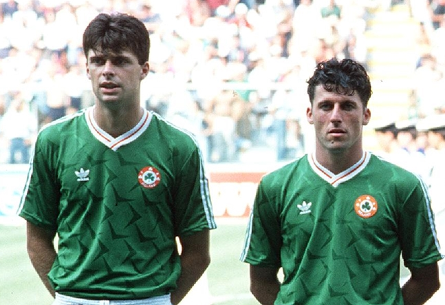 The Ireland team 1990