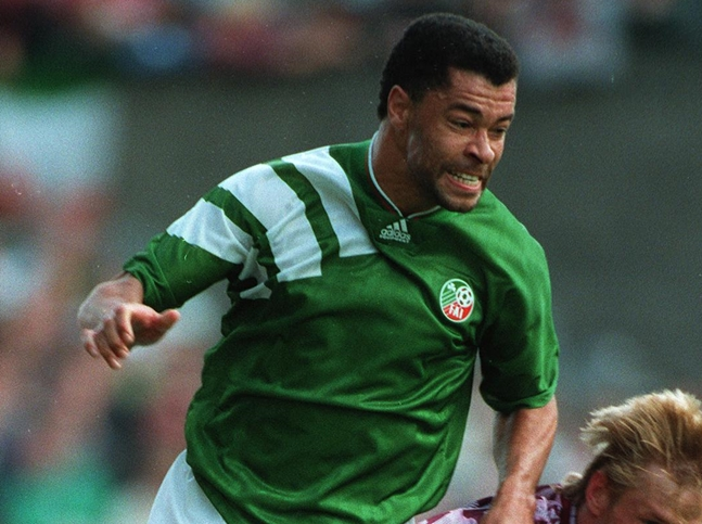 Paul McGrath Republic of Ireland V Latvia 9/9/1992