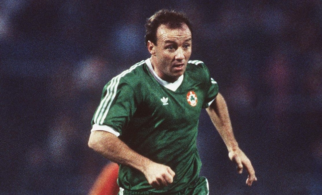Dave Langan Republic of Ireland 1986