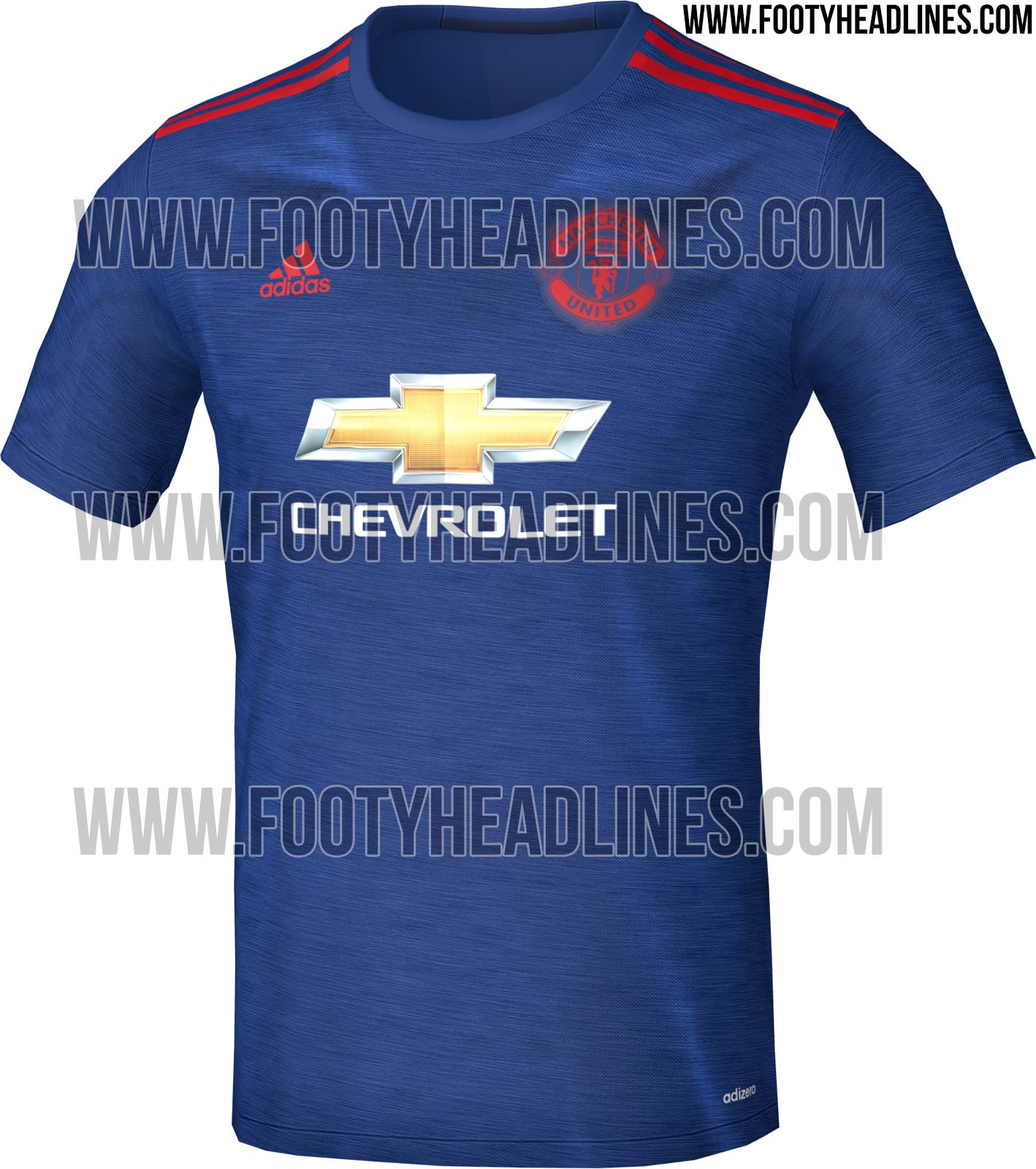Leaked  New Manchester United away kit to honour 1968 European Cup ... a1a5ac4db