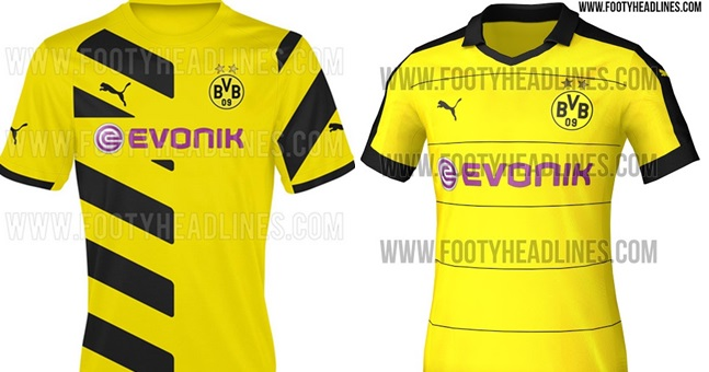 1be2c5699 PICS  Borussia Dortmund s home jersey for next season is a bloody ...