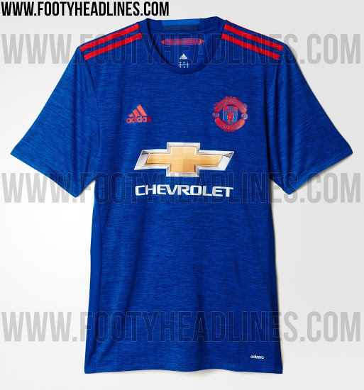 f34be7e48 Leaked Manchester United away kit is absolutely hideous
