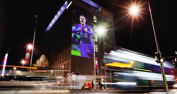 Leicester Backing the Blues Campaign in support of Leicester City