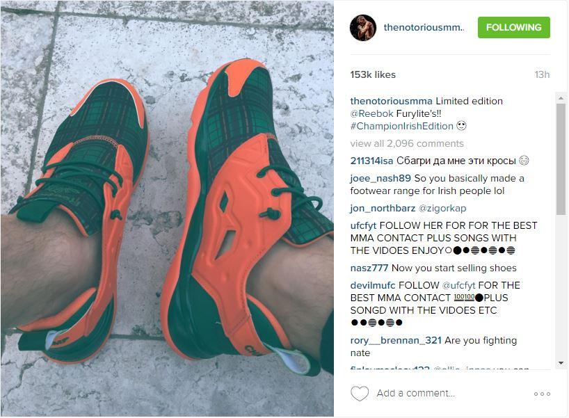 Reebok shoes McG