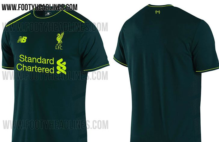 brand new 9366d 0e6fc Liverpool's third kit is not half as toxic looking as we ...