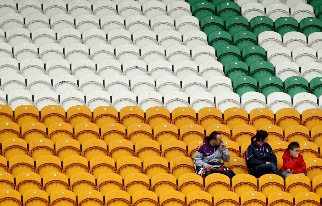 Leinster Senior Football Championship 28/5/2011 Offaly vs Wexford General view of fans Mandatory Credit ©INPHO/James Crombie