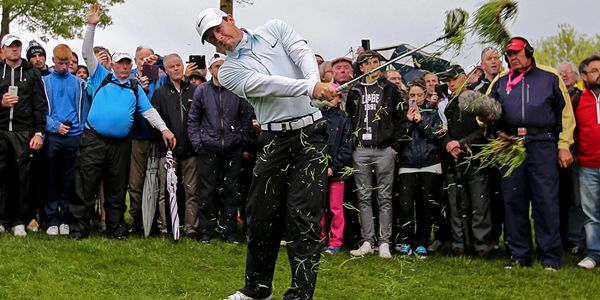 2016 Dubai Duty Free Irish Open Day 2, The K Club, Co. Kildare 21/5/2016 Rory McIlroy on the eleventh hole Mandatory Credit ©INPHO/Donall Farmer