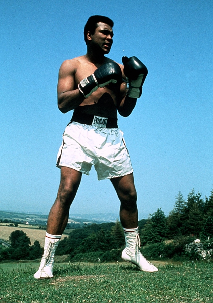 Boxing Training 1972 Muhammad Ali training ahead of his fight in Dublin ©INPHO/Allsport