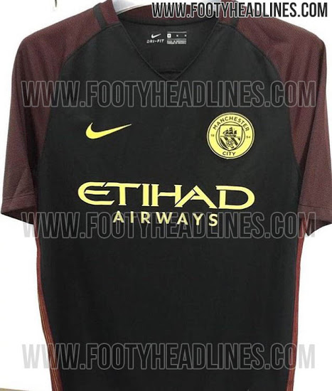 detailed look a6b39 8a71f PIC: Manchester City's new away kit has been leaked and it's ...